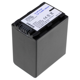 OTB Accu Batterij Sony NP-FH100 NP-FH50 NP-FH70 e.a 1900mAh