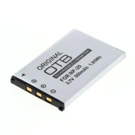 Accu Batterij Casio NP-20 - 500mAh