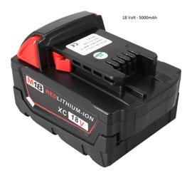 Patona Accu Batterij Milwaukee M18 M18BX - 18V 5000mAh