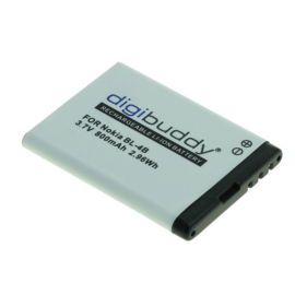 Digibuddy Accu Batterij Nokia N76 - BL-4B - 800mAh