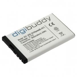 Digibuddy Accu Batterij voor Nokia BL-4CT / BL4CT - 800mAh