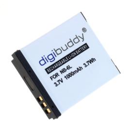 Digibuddy Accu Batterij Canon NB-6L / Canon NB-6LH - 1000mAh