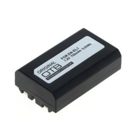 Original OTB Accu Batterij Minolta DG-5W - 750mAh 7.4V