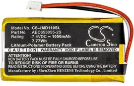 Accu Batterij JBL Flip 1 AEC653055-2S CS-JMD110SL 1050mAh
