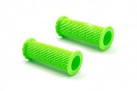 2x Handvat Kinderfiets 86mm lang 22mm diameter - Groen