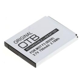 Originele OTB Accu Batterij Motorola Motofone F3 - BD-50