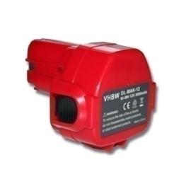 VHBW Accu Batterij Makita 1233 1234 1235 ... - 12V 3000mAh PA12