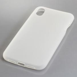 TPU Telefoonhoesje Apple iPhone XR  - Transparant