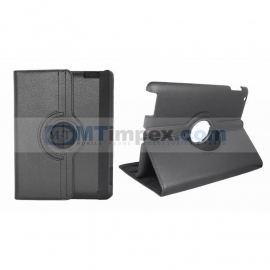 360 Rotation Case voor Apple iPad 2018  - Zwart
