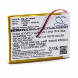 CS Accu Batterij Luvion SP405068 - 2000mAh 3.7V - CS-LNC100MB