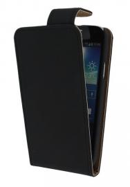 Flipcase hoesje Sony Xperia T3 - Zwart  (OP=OP)