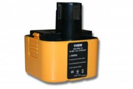 VHBW Accu Batterij Panasonic PA-1204 e.a. - 12V  2100mAh
