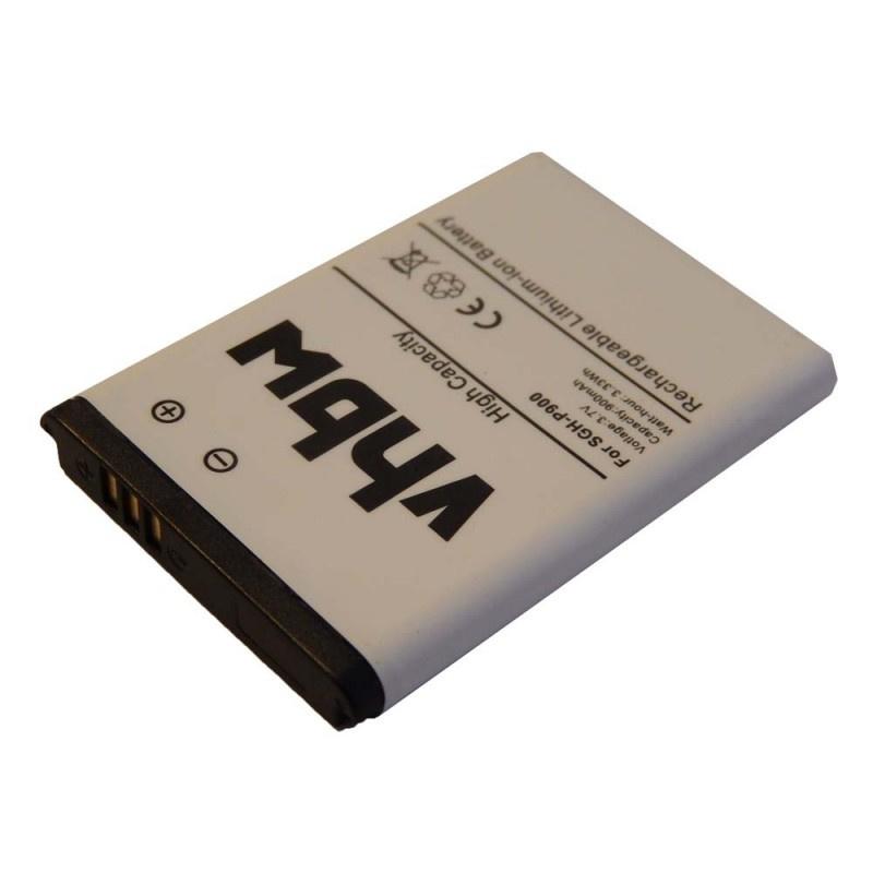 VHBW Accu Batterij Samsung SGH-E900 e.a. - 900mAh AB043446