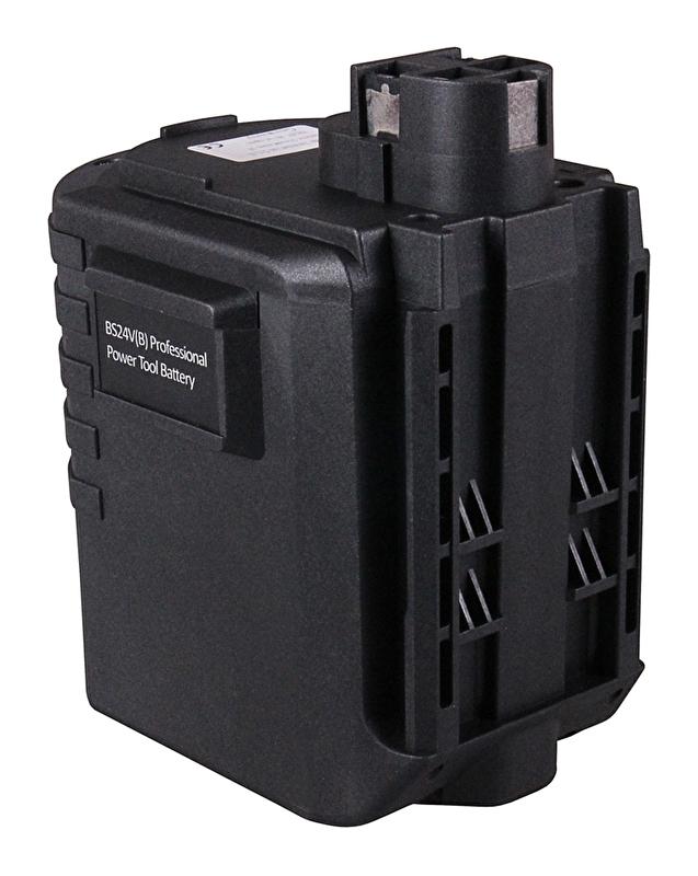 GBH 24VFR garantie d/'un an 24V 3000mAh Batterie pour BOSCH 0 611 225 703
