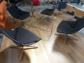 Space loungechair van Jehs und Laub voor Fritz Hansen