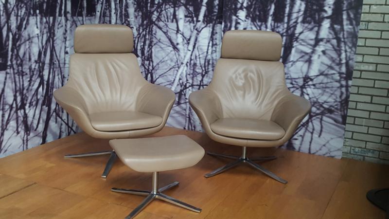 Walter Knoll Oscar fauteuil