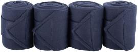Fleece bandages navy  zwart  bruin  rood paars  rose grijs of geel