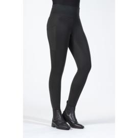 winter rijlegging Cosy zwart met siliconen zitvlak en brede tailleband Kind