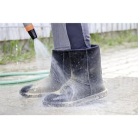 Davos HKM waterdichte en bontgevoerde stalschoen / laarsjes grijs