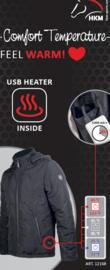 HKM Comfort Jas met Verwarming maat XS t/m XXXL