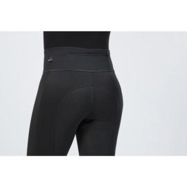 winter rijlegging Cosy zwart met siliconen zitvlak en brede tailleband