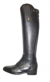 Rijlaars HKM Valencia 3997 Lang smalle kuit (met elastiek) in bruin of zwart