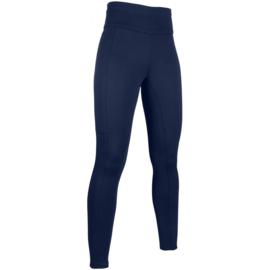 winter rijlegging Cosy blauw met siliconen zitvlak en brede tailleband fleece gevoerd
