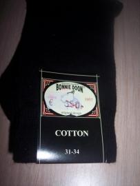 Bonnie Doon Sokken Zwart Maat 31-34