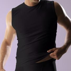 RJ mouwloos shirt Maten: M, L, XL en XXL, Wit en Zwart