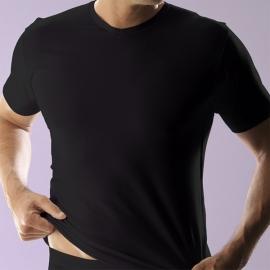 RJ T-shirt V-hals Maten: M, L, XL en XXL, Wit en Zwart