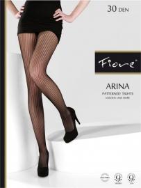 FIORE Fantasie-Panty ARINA 30 denier in de maten: S, M en L.