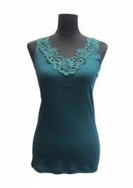 TOKER GROEN dames onderhemd in vele kleuren en maten verkrijgbaar !