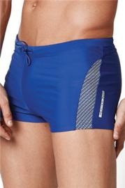 HENDERSON Zwemboxer LOBO Kobaltblauw met Grijs, M, L, XL en XXL