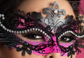 Mysterious Chili Mask von Chilirose Zwart / Pink One Size