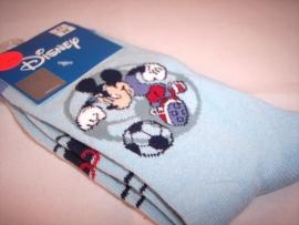 Mickey Mouse Voetbal Sokken Maat 31-34