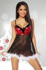 CHRISTMAS Spannende Babydoll, One Size