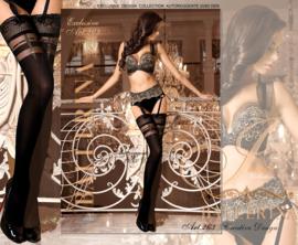 BALLERINA Sexy en aparte hold-up-kousen, Maat S/M en L/XL