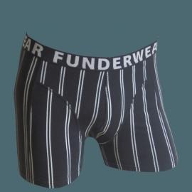 FUNDERWEAR Print Boxershort Krijtstreep, M, L, XL en XXL