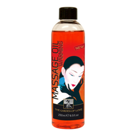 SHIATSU Massage olie - Verwarmend 250 ml