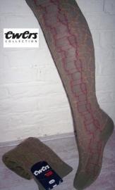 EWERS legergroene maillot met dessin Maat 92/98 en 110/116