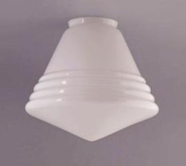 Glas Luxe Schoollamp  3 maten
