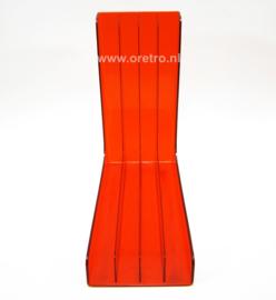 LP houder Plaston Swiss oranje