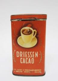 Blik Driessen cacao