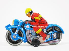 Motor blauw