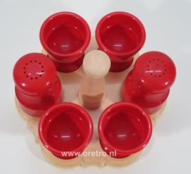 Eierset Emsa rood