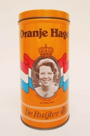 Blik Oranje Hagel