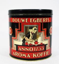 Blik Douwe Egberts groot jaren 60