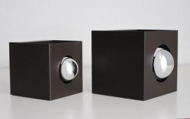 Wandlamp Philips kubus kopspiegel