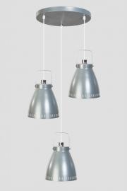 Hanglamp Acate trio grijs