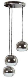 Hanglamp Bullit chroom 3 lichts